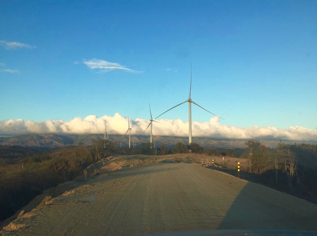 Parque eólico Agua Clara