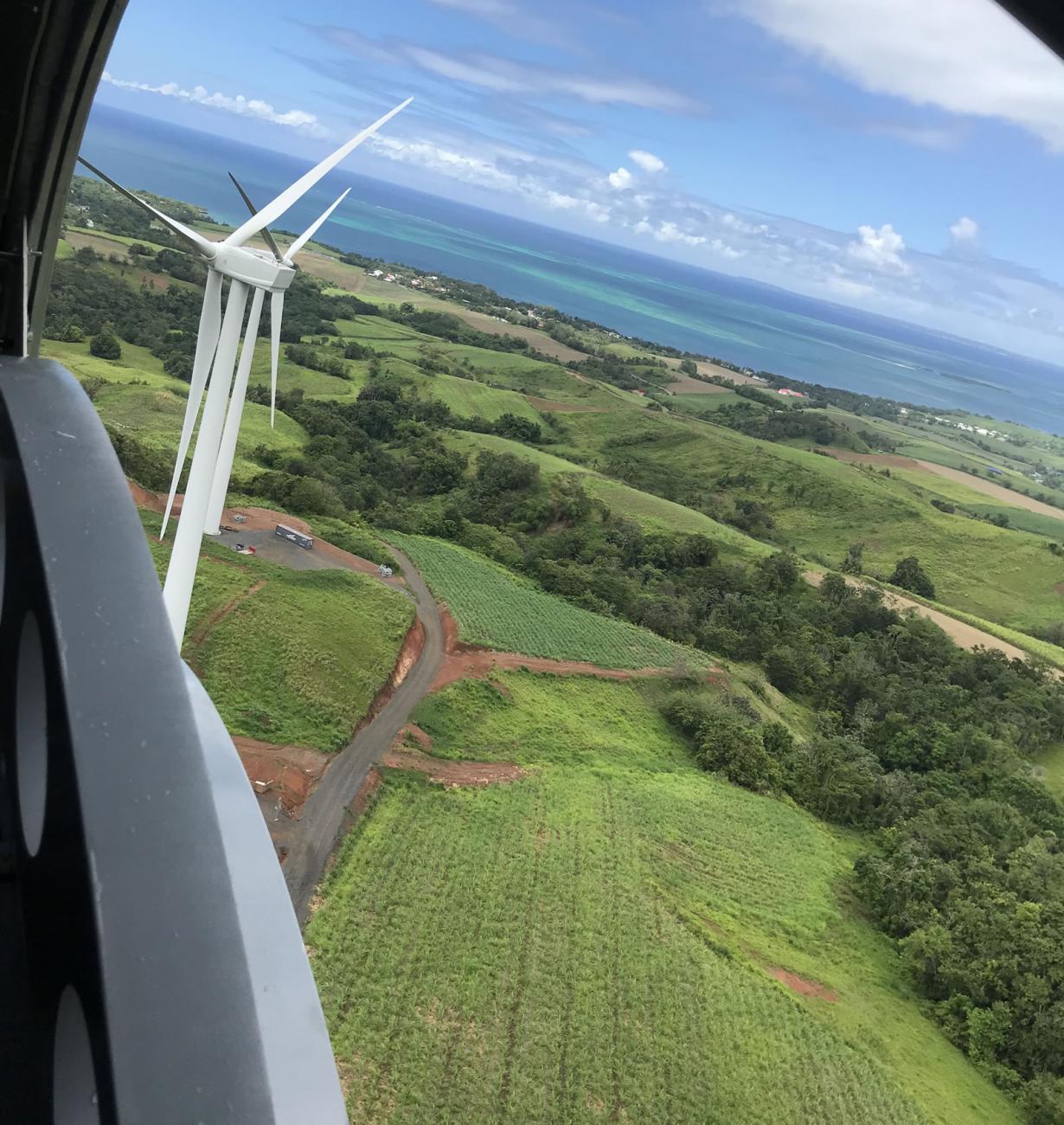 Proyecto Eólico Sainte-Rose ( 2018)